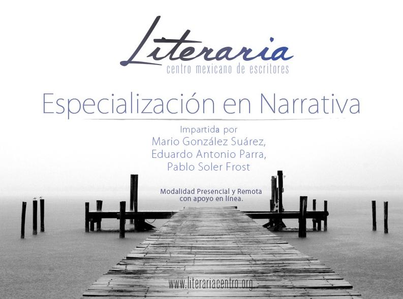 Curso de especialización en narrativa