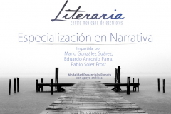 Curso de especialización en narrativa